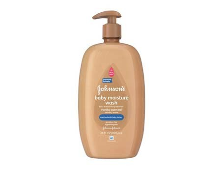 Johnson's Baby Moisture Wash (Vanilla OatMeal)
