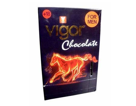 Vigor Chocolate (Full Pack-12 Bars)