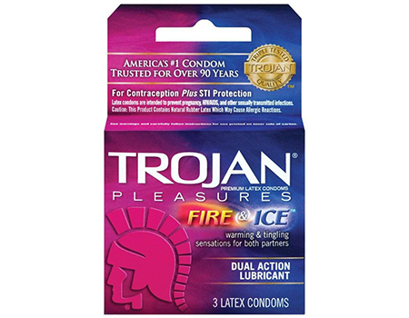 TROJAN Fire & Ice Lubricated Condoms
