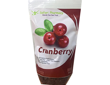 Dried Cranberry Fruit - 600g
