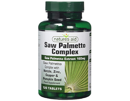 Nature's aid Saw Palmetto Complex 160mg