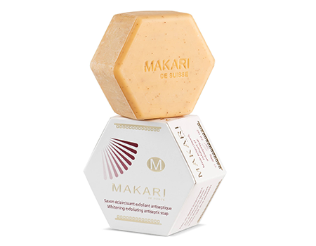 MAKARI Whitening Exfoliating Antiseptic Bar Soap
