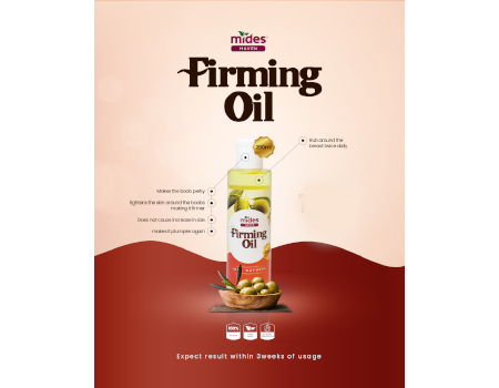 MidesHaven Boobs Firming Oil