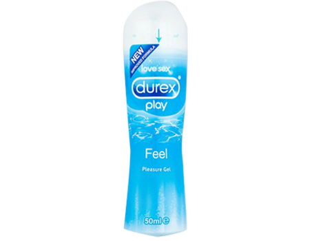 Durex Play Water Based Pleasure Gel Lube (Feel) 50ml